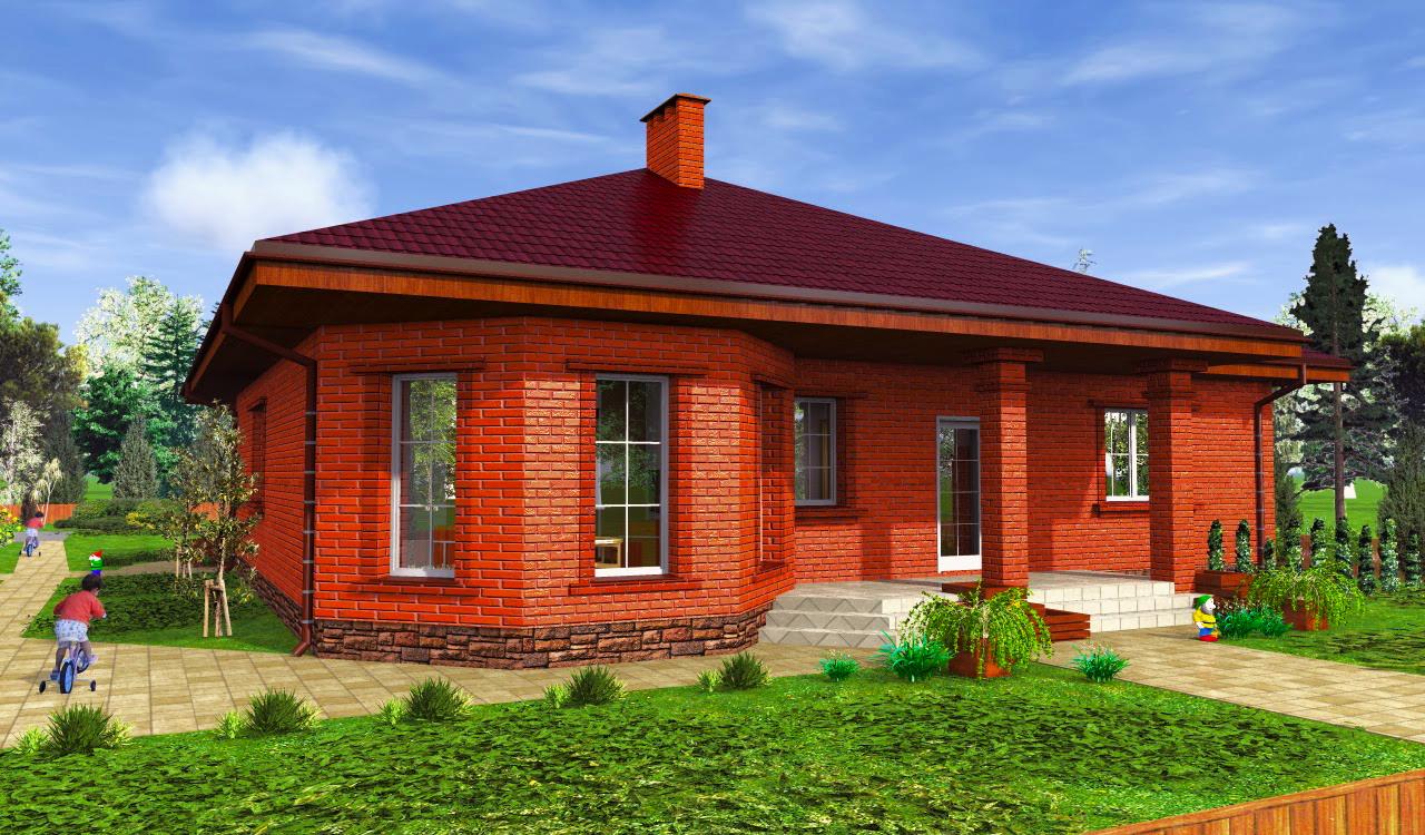что детворы кирпичные одноэтажные дома фото и проекты домов можете ознакомиться